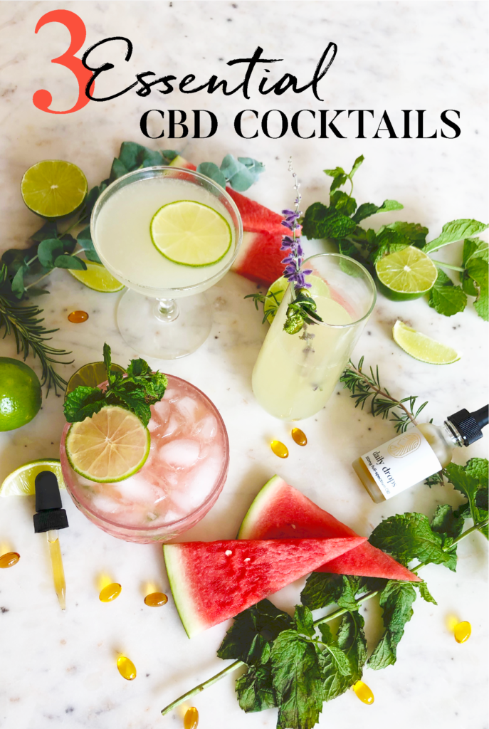 3 Essential CBD Summer Cocktails