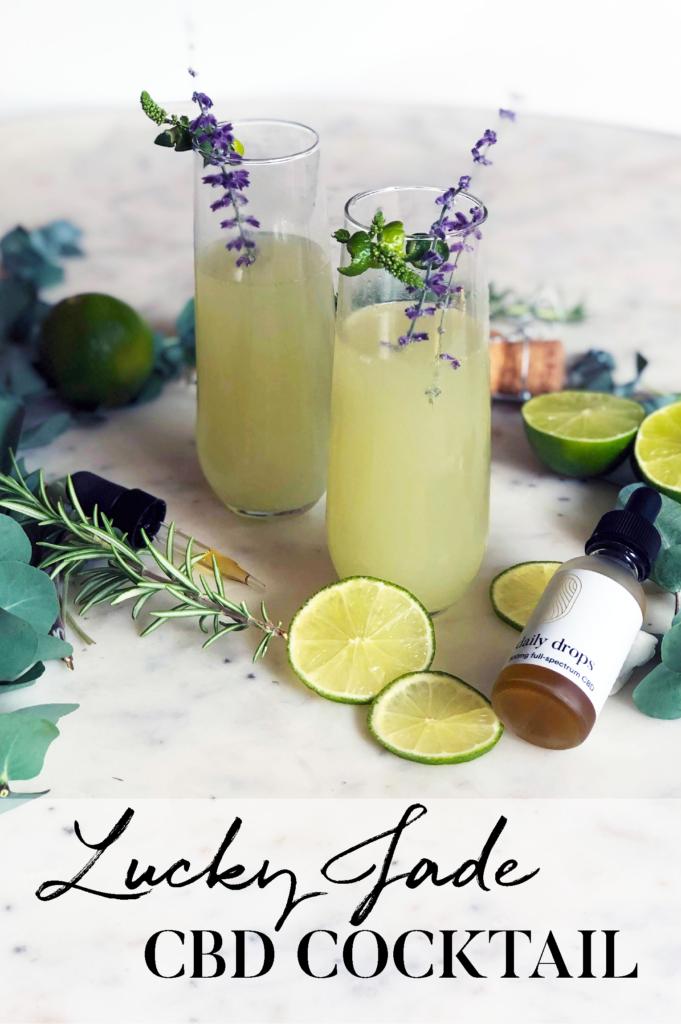Lucky Jade CBD Summer Cocktail