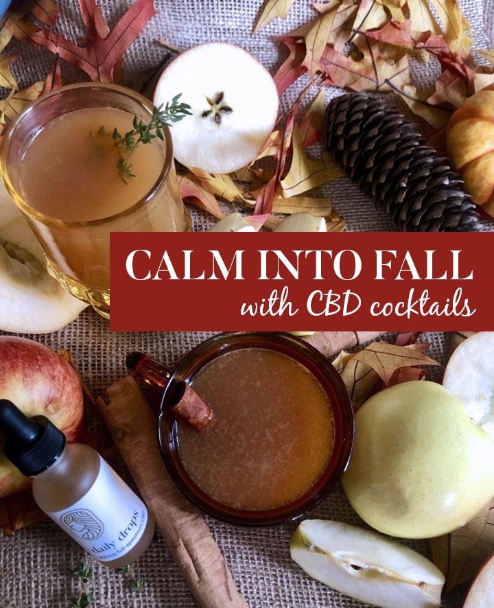 CBD Autumn Cocktails