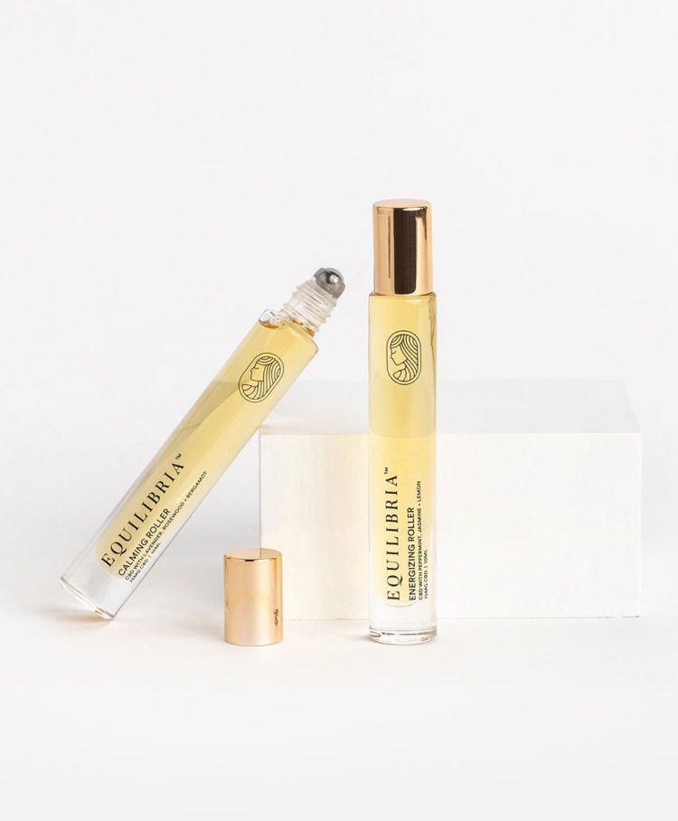 Dynamic Roller Duo SET OF 2 Infused CBD Rollers 75mg CBD per roller