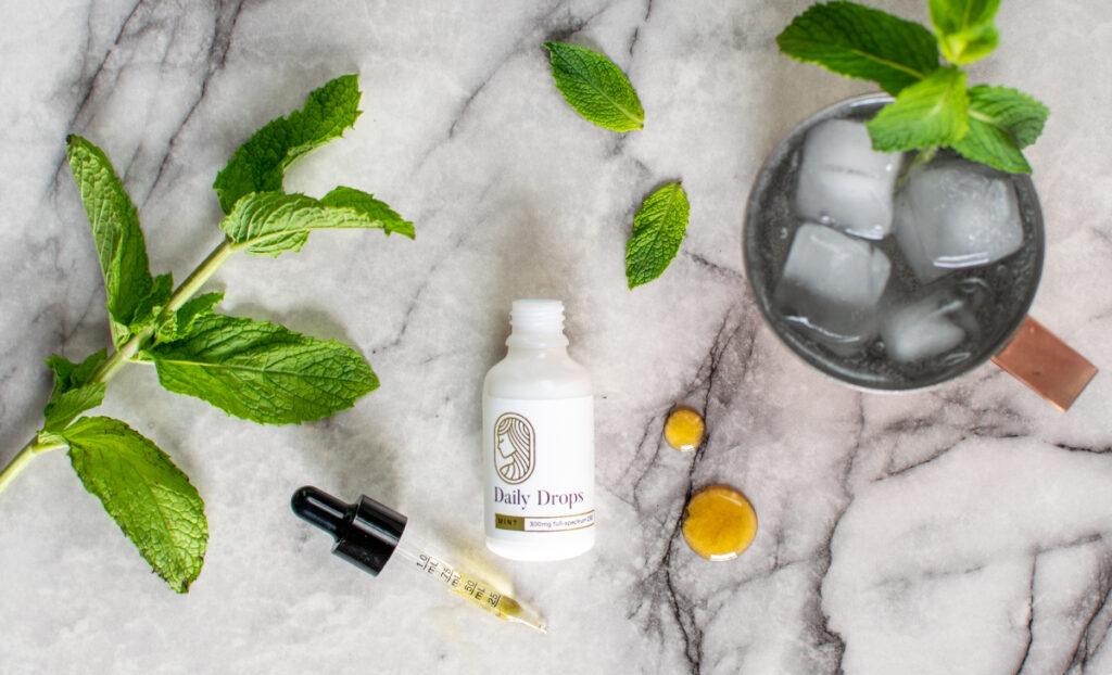 Mint Daily Drops Cucumber Mint Spritzer