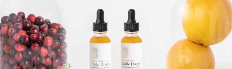 Flavored CBD Oil Seasonal Flavored Daily Drops