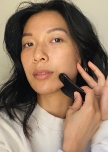 How to give yourself a 5-step CBD Gua Sha Facial